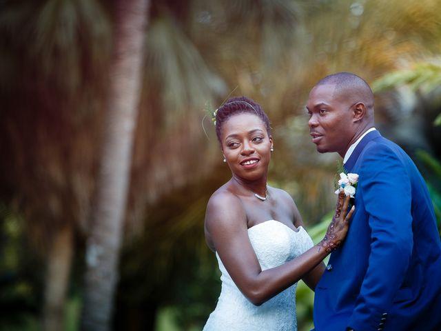 Le mariage de Harry et Cécilia à Ducos (Martinique), Martinique 36