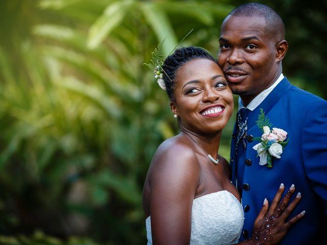Le mariage de Harry et Cécilia à Ducos (Martinique), Martinique 1