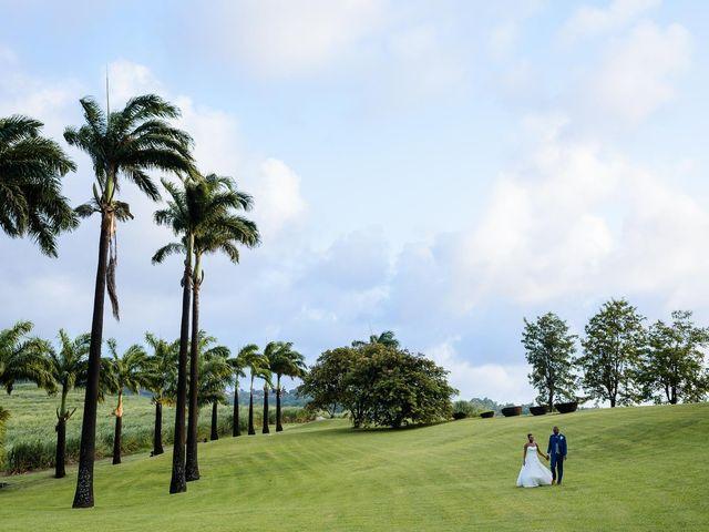 Le mariage de Harry et Cécilia à Ducos (Martinique), Martinique 39