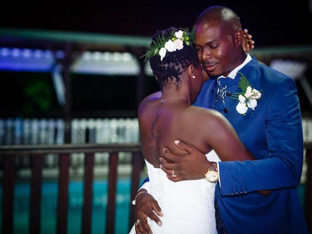 Le mariage de Harry et Cécilia à Ducos (Martinique), Martinique 43