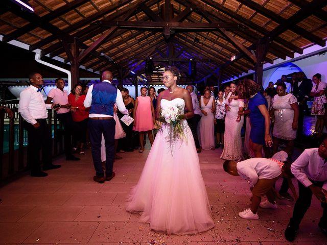 Le mariage de Harry et Cécilia à Ducos (Martinique), Martinique 46