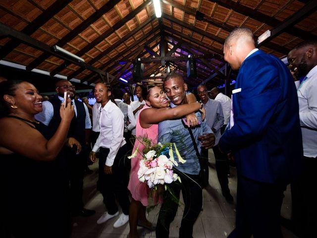 Le mariage de Harry et Cécilia à Ducos (Martinique), Martinique 47