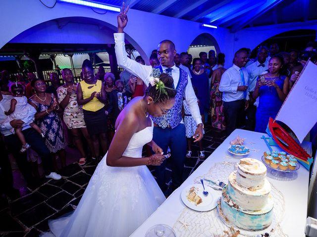 Le mariage de Harry et Cécilia à Ducos (Martinique), Martinique 48