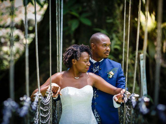 Le mariage de Harry et Cécilia à Ducos (Martinique), Martinique 49