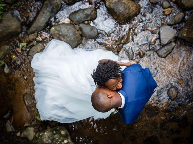 Le mariage de Harry et Cécilia à Ducos (Martinique), Martinique 52