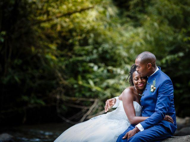 Le mariage de Harry et Cécilia à Ducos (Martinique), Martinique 53