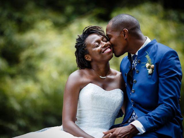 Le mariage de Harry et Cécilia à Ducos (Martinique), Martinique 54