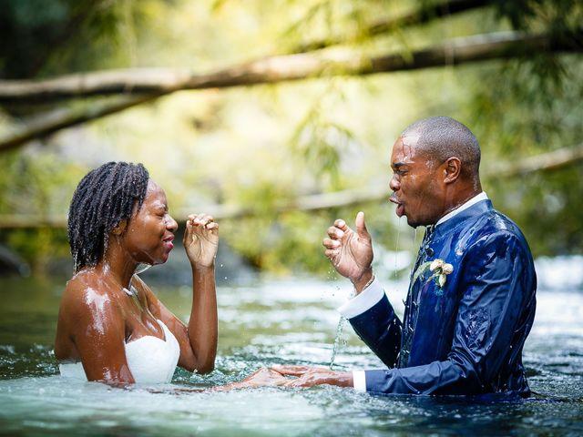 Le mariage de Harry et Cécilia à Ducos (Martinique), Martinique 55