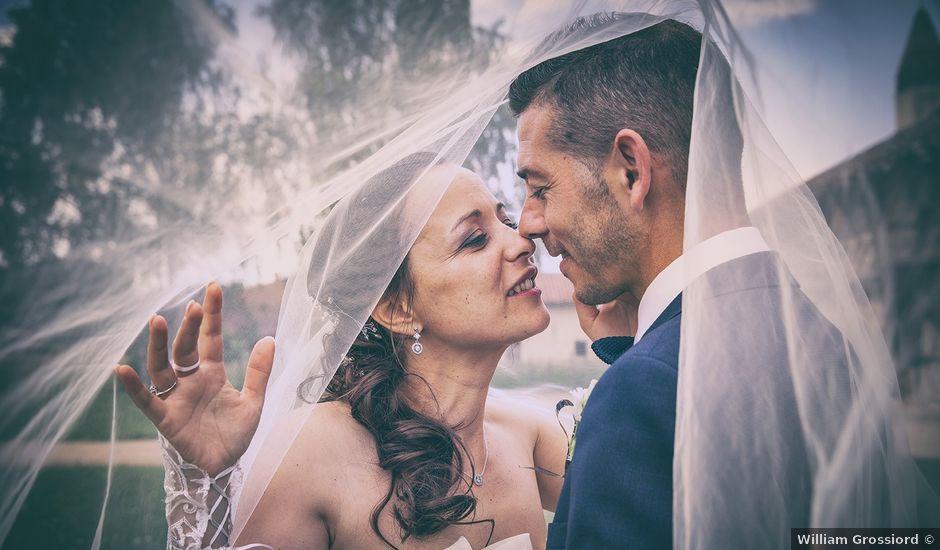 Le mariage de Nelson et Carine à Saint-Trivier-de-Courtes, Ain