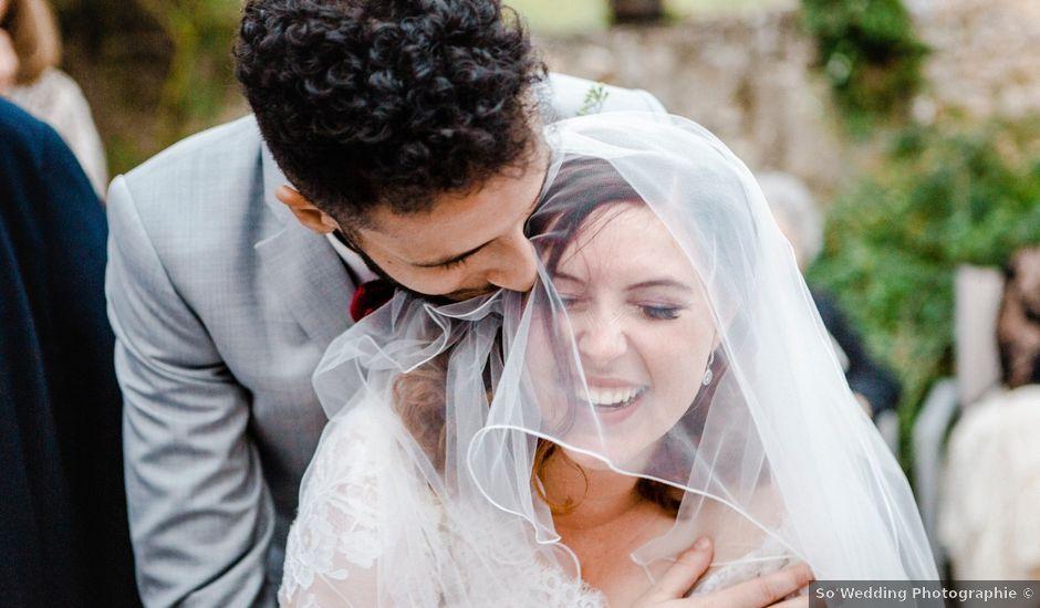 Le mariage de Amr et Daphnée à Saint-Pierre-Lafeuille, Lot
