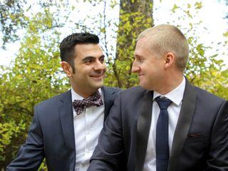 Le mariage de James et Stéphane