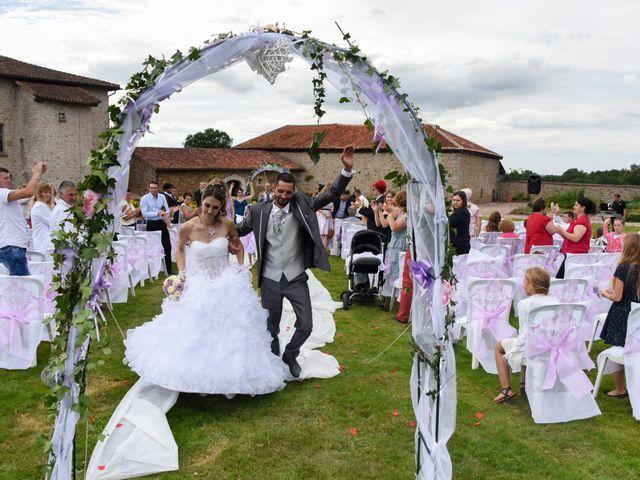 Le mariage de Vincent et Kristelle à Mézières-sur-Issoire, Haute-Vienne 10