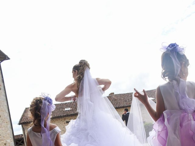 Le mariage de Vincent et Kristelle à Mézières-sur-Issoire, Haute-Vienne 11