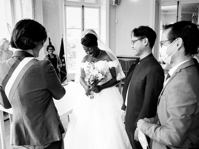 Le mariage de Denis et Marie à Saint-Ouen-l'Aumône, Val-d'Oise 22