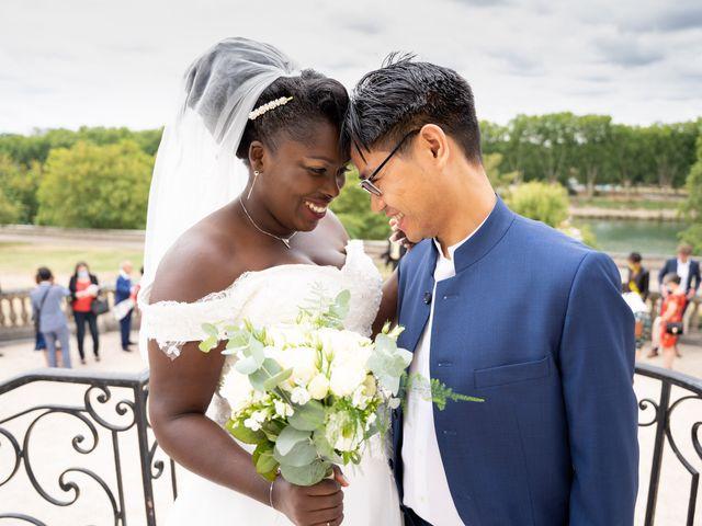 Le mariage de Denis et Marie à Saint-Ouen-l'Aumône, Val-d'Oise 26