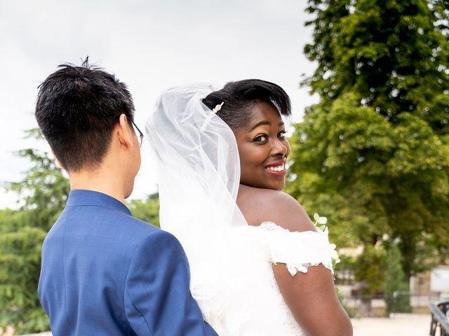Le mariage de Denis et Marie à Saint-Ouen-l'Aumône, Val-d'Oise 28