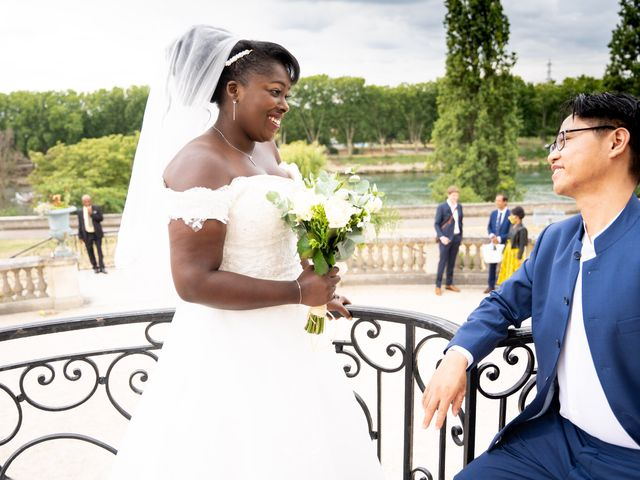 Le mariage de Denis et Marie à Saint-Ouen-l'Aumône, Val-d'Oise 29