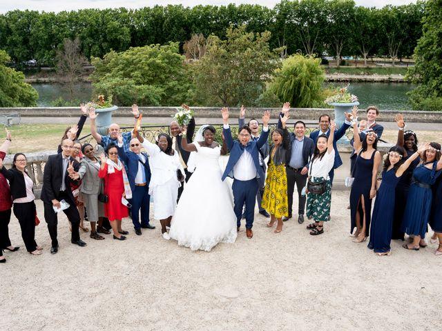 Le mariage de Denis et Marie à Saint-Ouen-l'Aumône, Val-d'Oise 32