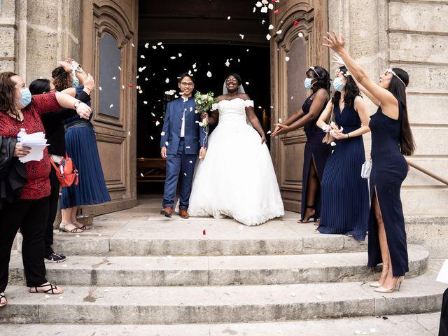 Le mariage de Denis et Marie à Saint-Ouen-l'Aumône, Val-d'Oise 37