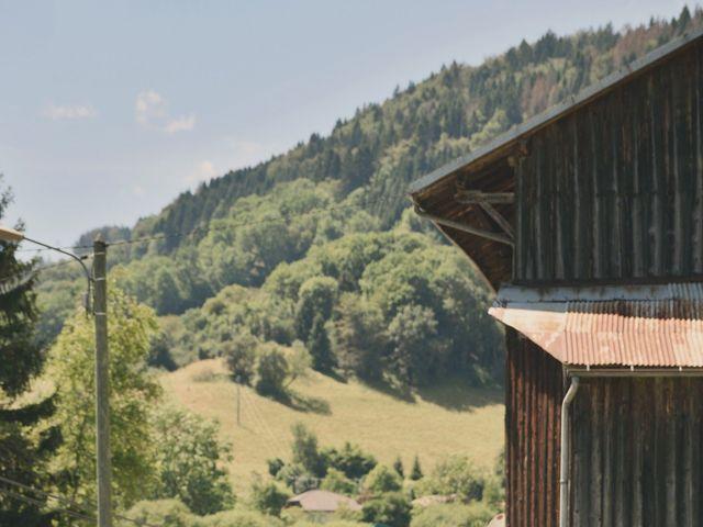 Le mariage de Sylvain et Coralie à Vailly, Haute-Savoie 10