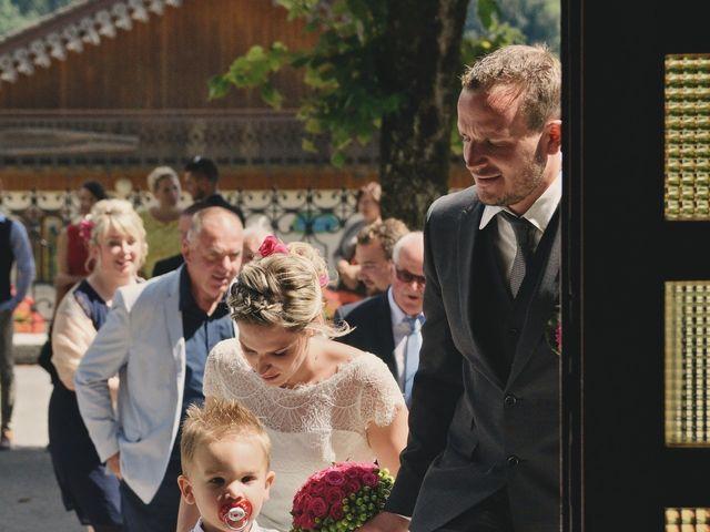 Le mariage de Sylvain et Coralie à Vailly, Haute-Savoie 13