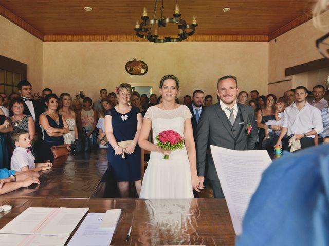 Le mariage de Sylvain et Coralie à Vailly, Haute-Savoie 14