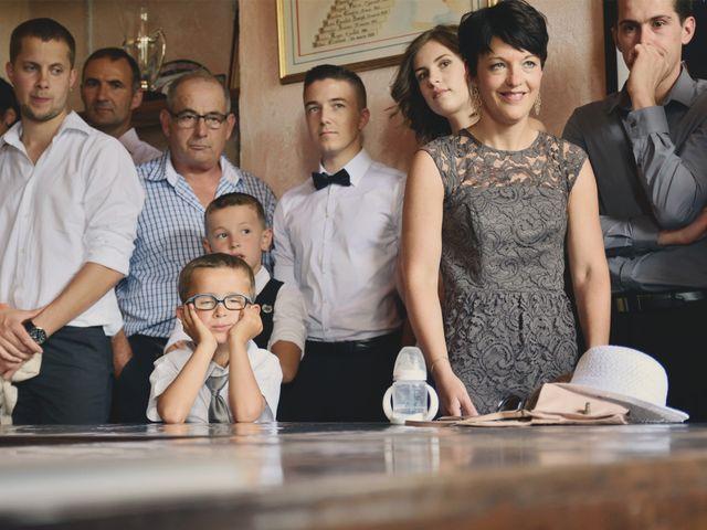 Le mariage de Sylvain et Coralie à Vailly, Haute-Savoie 15