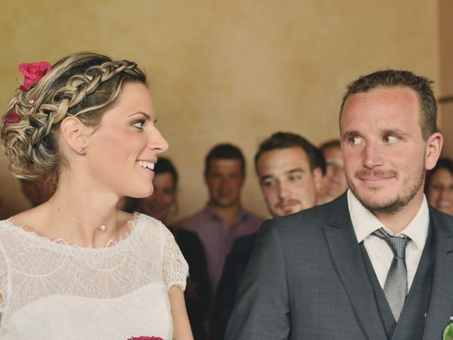 Le mariage de Sylvain et Coralie à Vailly, Haute-Savoie 17