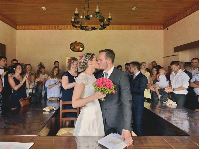 Le mariage de Sylvain et Coralie à Vailly, Haute-Savoie 18