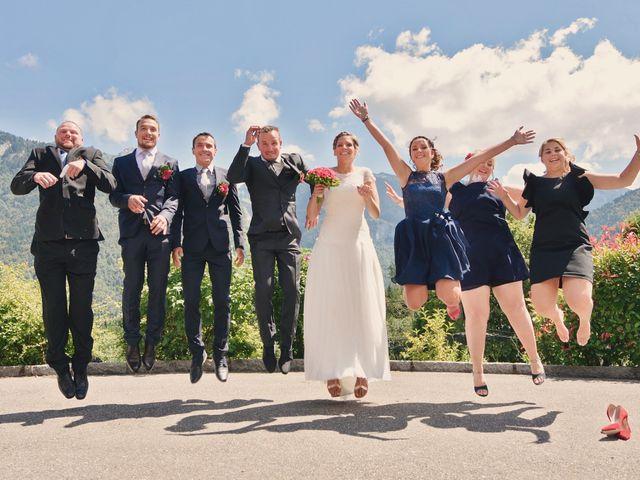 Le mariage de Sylvain et Coralie à Vailly, Haute-Savoie 29