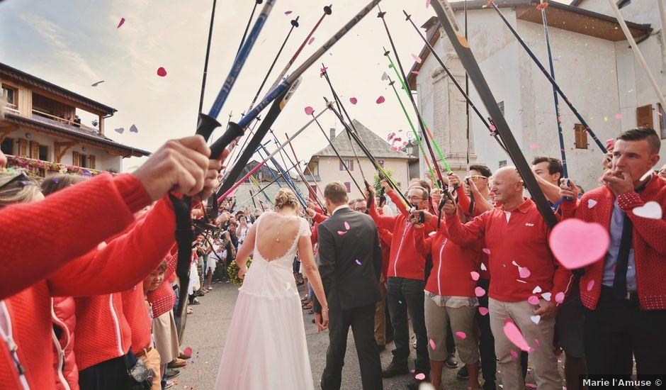 Le mariage de Sylvain et Coralie à Vailly, Haute-Savoie
