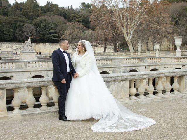 Le mariage de Nacer et Nawal à Nîmes, Gard 20