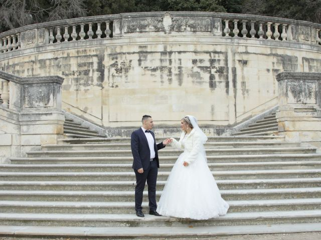 Le mariage de Nacer et Nawal à Nîmes, Gard 1