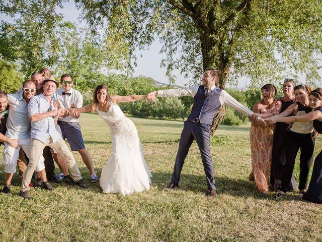 Le mariage de Benjamin et Sandrine à Les Martres-de-Veyre, Puy-de-Dôme 30