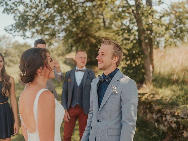 Le mariage de Calvin et Camille à Beauzac, Haute-Loire 13