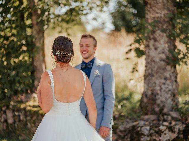 Le mariage de Calvin et Camille à Beauzac, Haute-Loire 15
