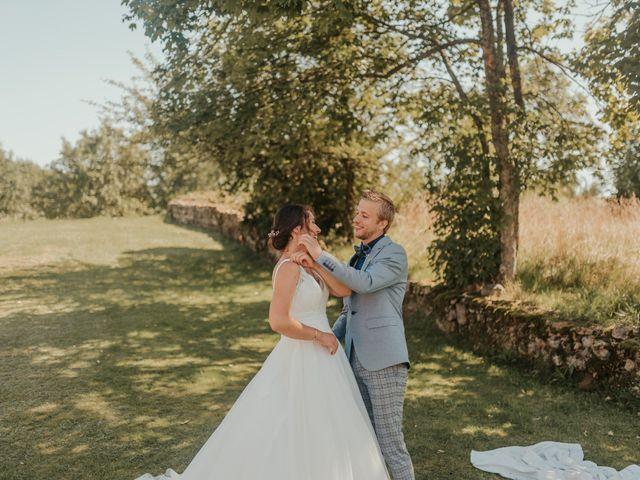 Le mariage de Calvin et Camille à Beauzac, Haute-Loire 16