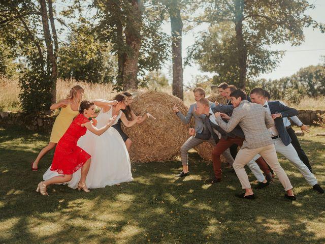 Le mariage de Calvin et Camille à Beauzac, Haute-Loire 20