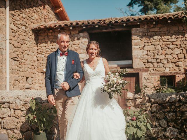 Le mariage de Calvin et Camille à Beauzac, Haute-Loire 36
