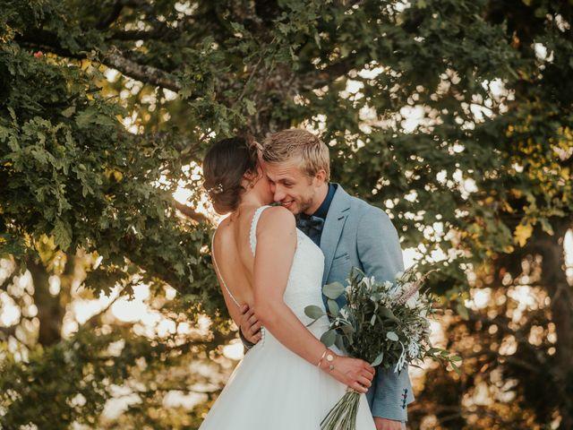 Le mariage de Calvin et Camille à Beauzac, Haute-Loire 55