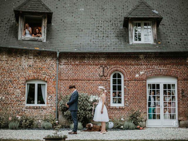 Le mariage de Maximilien  et Alix à Lammerville, Seine-Maritime 1