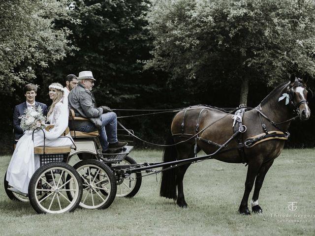 Le mariage de Maximilien  et Alix à Lammerville, Seine-Maritime 9