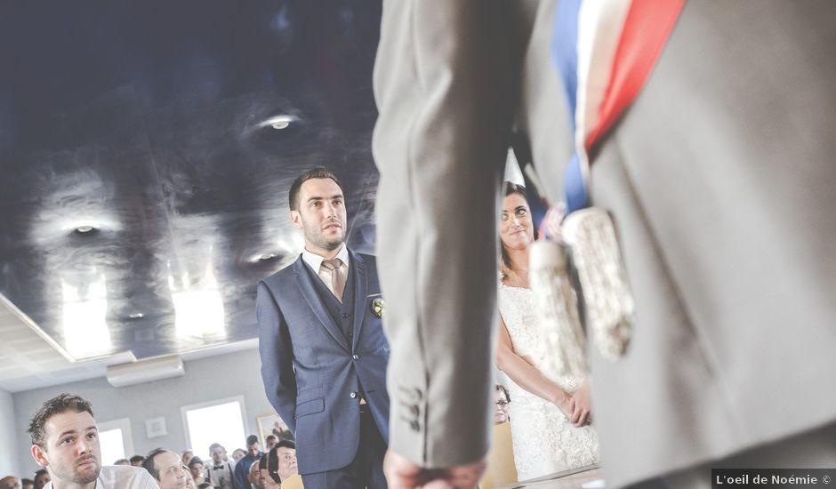 Le mariage de Benjamin et Sandrine à Les Martres-de-Veyre, Puy-de-Dôme