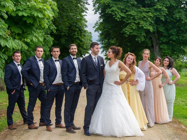 Le mariage de Vincent et Nassira à Vouillé, Deux-Sèvres 43