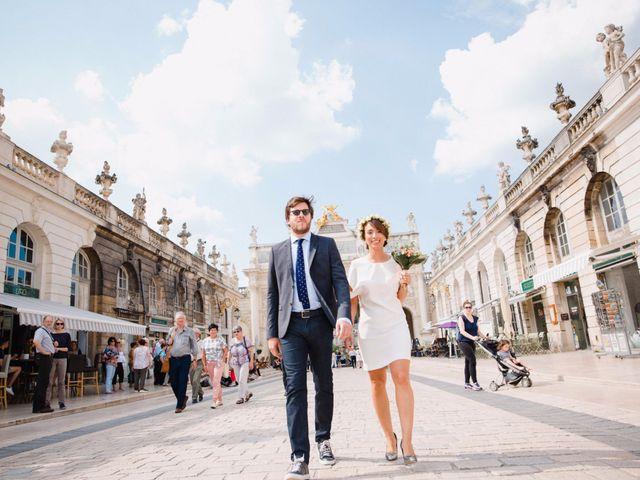 Le mariage de Mathieu et Amandine à Nancy, Meurthe-et-Moselle 8