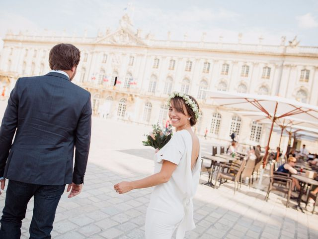 Le mariage de Mathieu et Amandine à Nancy, Meurthe-et-Moselle 9