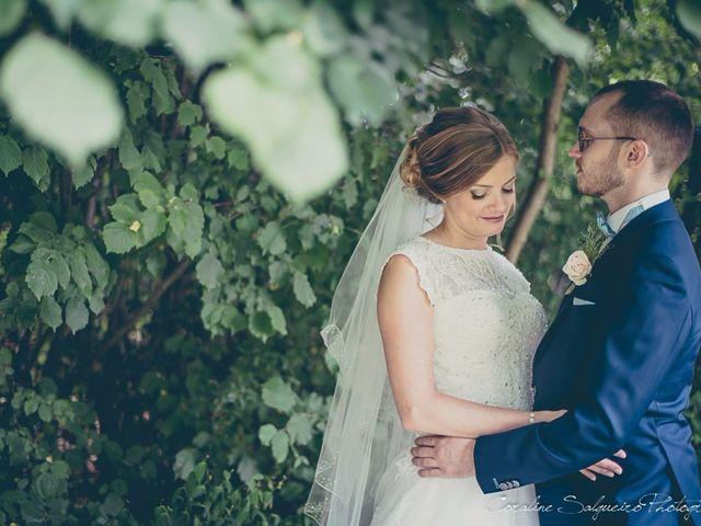 Le mariage de Simon et Olivia à Val-de-Reuil, Eure 16