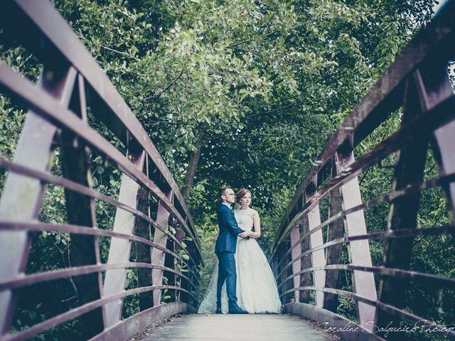 Le mariage de Simon et Olivia à Val-de-Reuil, Eure 17