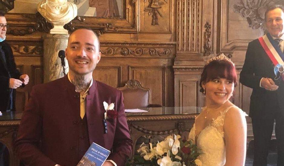 Le mariage de Louis et Yllana à Tarascon, Bouches-du-Rhône