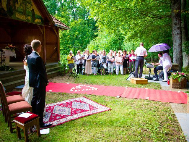 Le mariage de Mickael et Audrey à Wissembourg, Bas Rhin 24